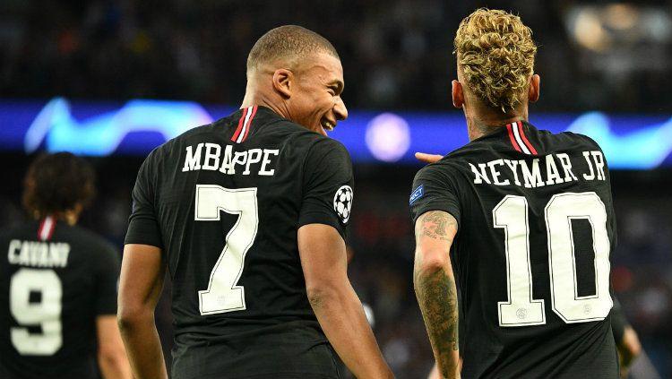 pemain Neymar Dan Mbappe