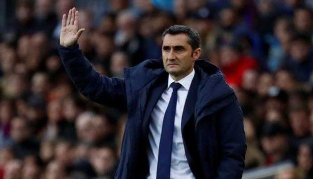Pelatih Barcelona Valverde mengkhawatirkan atmosfer di Anfield atas serangan balik Liverpool