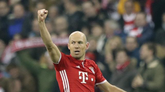 Robben sangat berterima kasih setelah pertandingan pertamanya dalam 158 hari