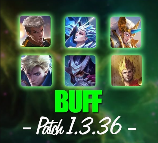 Hero Buff Patch 1.3.36