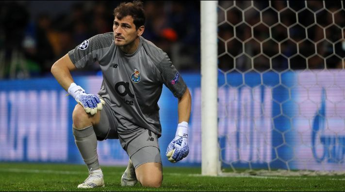 Iker Casillas Kiper Porto dibawa ke rumah sakit karena masalah jantung