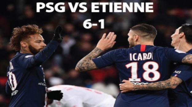 PSG vsEtienne, Mbappe Menderita Cedera Saat PSG Menangkan Piala Prancis
